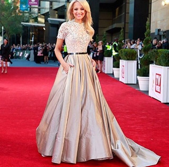 Carrie Bickmore looking exceptionally radiant at the 2014 TV Week Logie Awards
