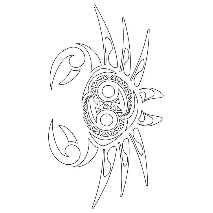 Cancer Crab Tattoo | TATTOO TRIBES - Dai forma ai tuoi sogni Tatuaggi e loro ...