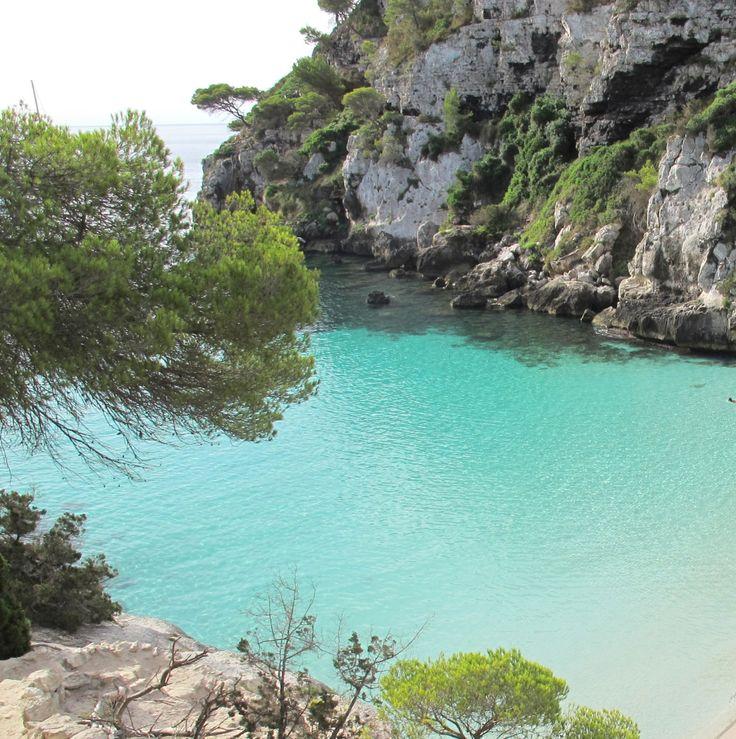 Les meilleures plages d'Espagne, à Minorque ~ Las mejores playas de España, en…