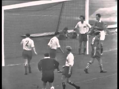 Ganzes Spiel: schalke 04 - Hamburger SV 3:0 - 1958