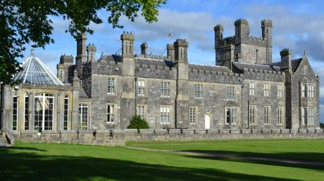 """Crom Castle West Wing, County Fermanagh.Next week filming begins on the second series of the BBC drama 'Blandings'.The series based on the stories of British comic writer PG Wodehouse, has a new director this year Mandie Fletcher, famous for her work on Only Fools and Horses and Blackadder. http://www.paranormaldatabase.com/ireland/fermanagh.php for a very brief description of the Crom """"Ghost Light""""."""