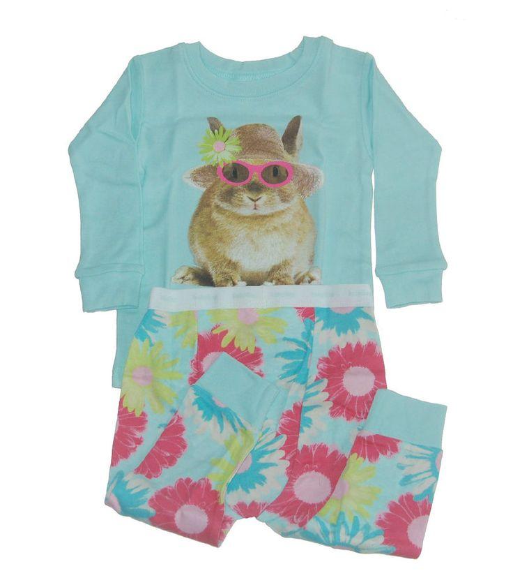 Baby Gap Girls Easter Sun Bunny Pajamas 6-12 NWT NEW NIP #BabyGap #easterbunny