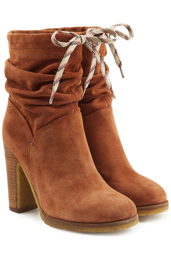 Suede Ankle Boots - See by Chloé