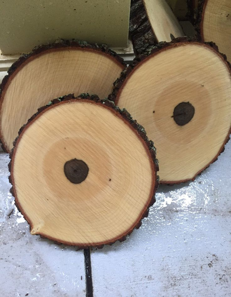 Set of 12! 10 inch wood slices! Wood slabs, wedding decor, rustic wedding decorations, wood slice centerpieces, wedding table decor! by RusticWoodSlices on Etsy https://www.etsy.com/listing/449312630/set-of-12-10-inch-wood-slices-wood-slabs