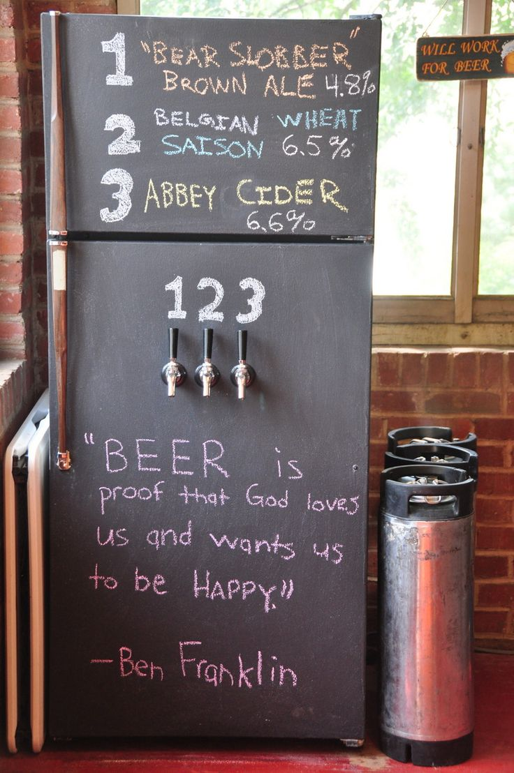 17 Best Ideas About Chalkboard Fridge On Pinterest Beer