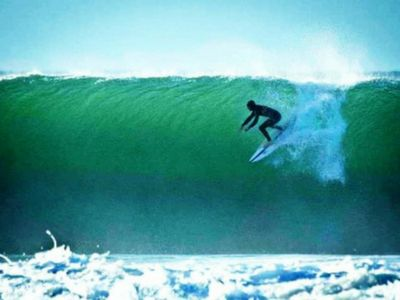 For a lot of surfers, the front of our shoulders are very over used, while the back of the shoulder is not. There's also a lot of funky stuff going on in other parts of the body from the ankle up. Check out my Surfer's Shoulders article on Wavetribe.