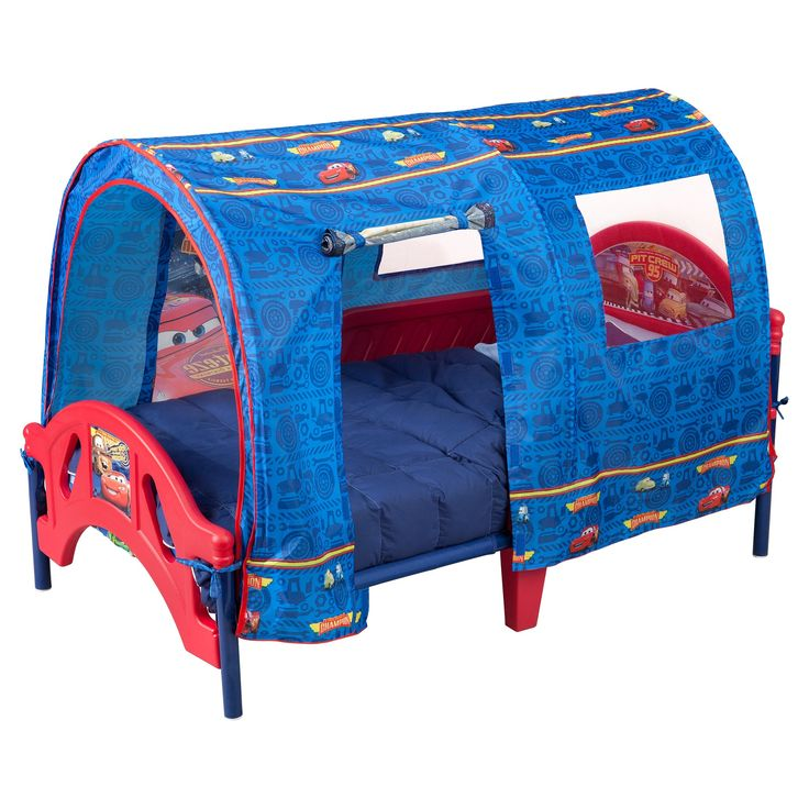 Delta Children Character Toddler Tent Bed - Cars