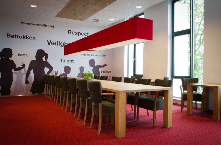 Interieur docentenkamer in gebouw Plein Oost te Haarlem door #Thereca