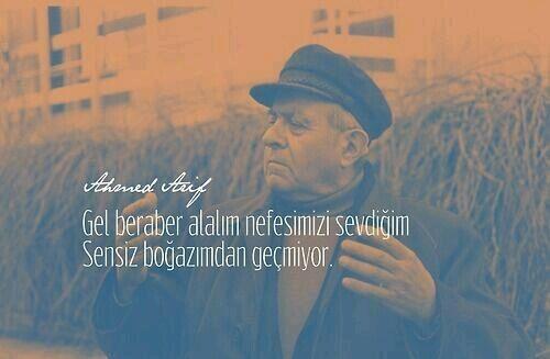 #ahmedarif #şiirsokakta