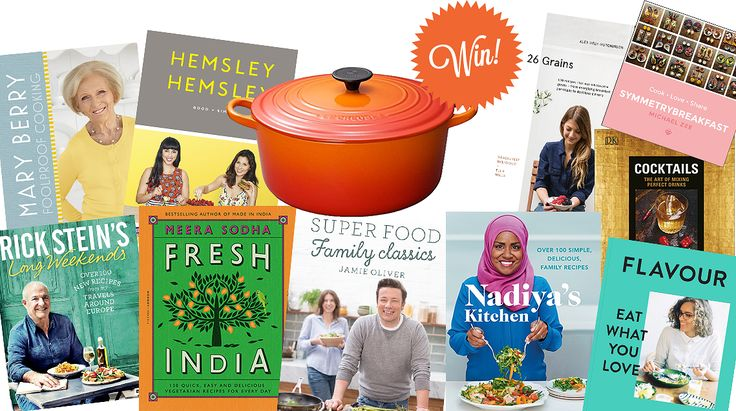 WIN Our 10 Cookbooks of 2016 PLUS a Le Creuset Classic Cast Iron Casserole - The Happy Foodie