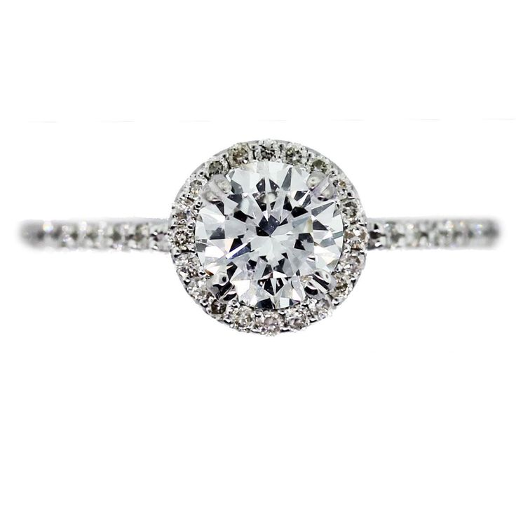 Halo Engagement Ring Round Settings Cartier 3 love this!!