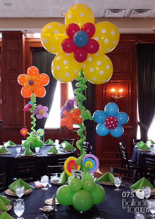Balloons by tommy photo gallery centerpieces