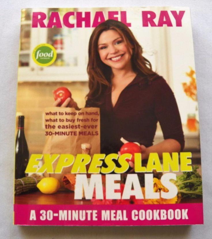 $2.00 - Rachael Ray Express Lane Meals 1st ed. 2006 PB (22017-139 BO) cookbooks