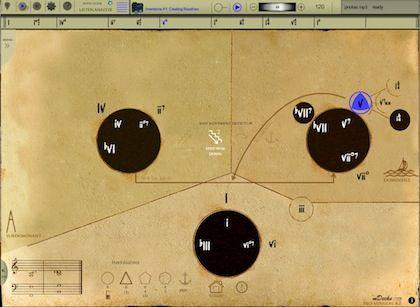 mapping tonal harmony screenshot 2