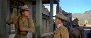 Patrick Wayne as Dev and John Wayne as G.W.
