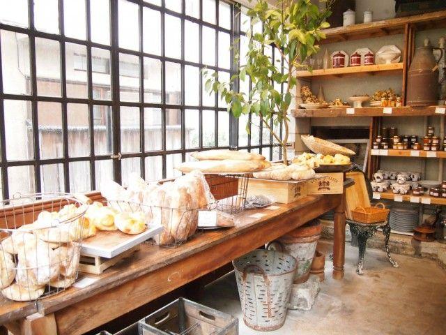 la vie a la campagne vida interior pinterest bakeries shop ideas and cafes. Black Bedroom Furniture Sets. Home Design Ideas