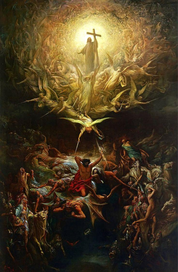 """bast38: """"Il trionfo del cristianesimo sul paganesimo da Gustave Doré"""""""