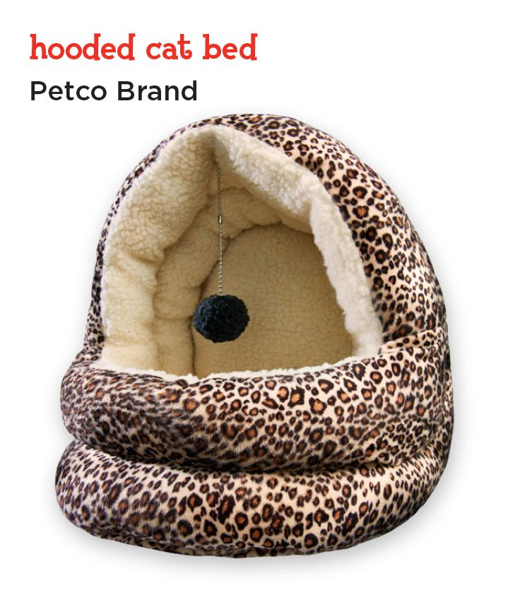 With plush fabric and maximum snuggle potential, this cat bed is sure to be your feline's favorite new catnap spot.