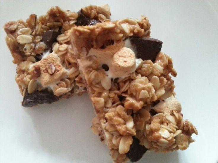 Handmade granola bar