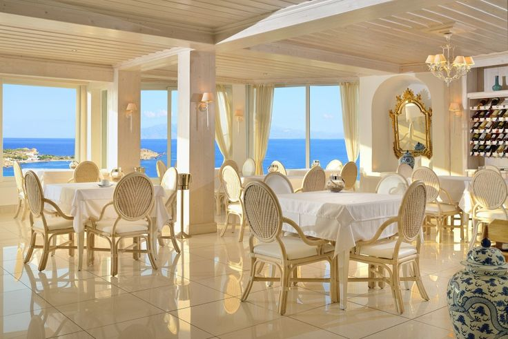 Thymare with its elegant furnishings and breathtaking views overlooking the blue sea and picturesque cove provides an intimate setting for guests to enjoy first-hand a Mediterranean dining experience.  http://www.hotelpalladium.gr/