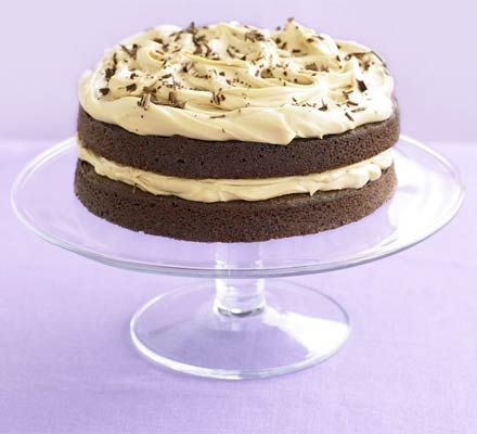 We know you all love coffee cake as much as chocolate cake, so why not combine the two?