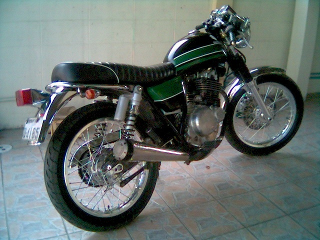 SUZUKI TU 250 Suzuki cafe racer Motorcycle Bike