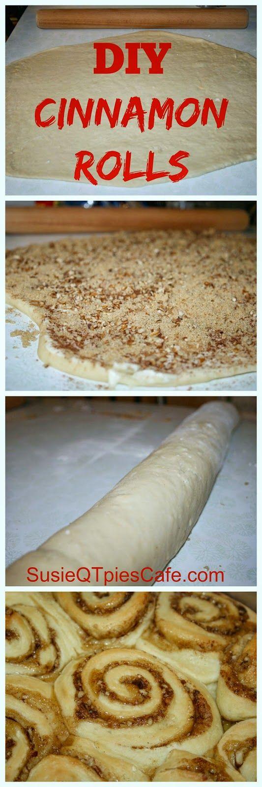 DIY Cinnamon Rolls - perfect for Easter Breakfast or Brunch