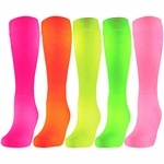 NEON knee-high socks!!!! Perfecttt for camp!!