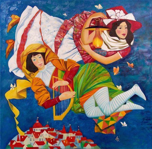 Flying - Olga Larionova