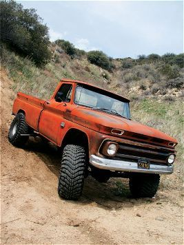 1966 Custom Chevy Truck.... My parents had a big truck like this while I was growing up. We called it Big Red. My dad also put a fake turtle on the hood. I don't know why. But it grow on us. Lol.