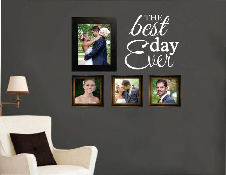 how to create a collage picture wall