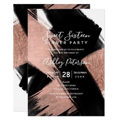 381 besten Rose Gold Birthday Party Bilder auf Pinterest