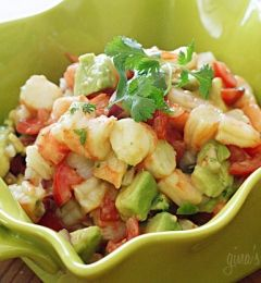 Zesty Lime, Shrimp, & Avocado Salad