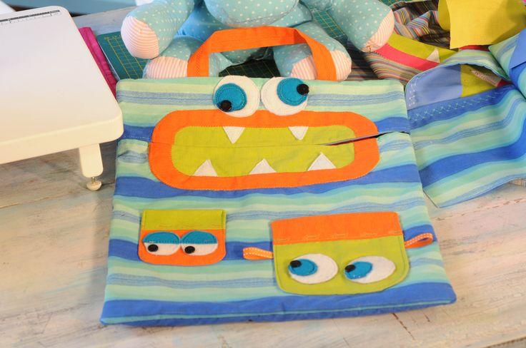 Bolsa colorida para juguetes