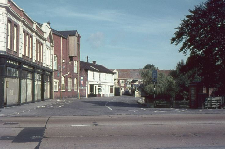 Andover in the 1960s prior to Town Development 1 of 9 - gallery - from Andover Advertiser