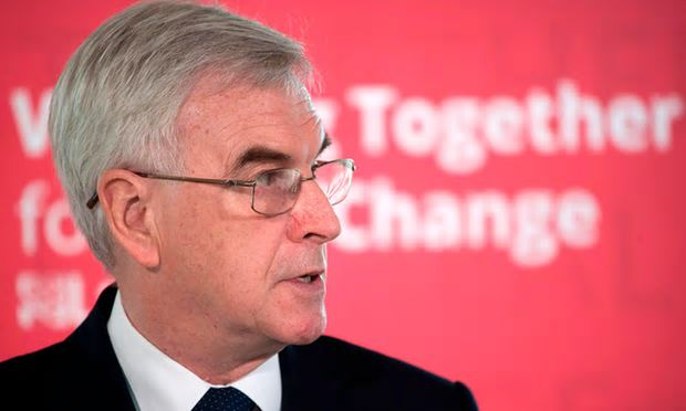 John McDonnell has announced policy plans for the next Labour government – and they're good | Vox Political