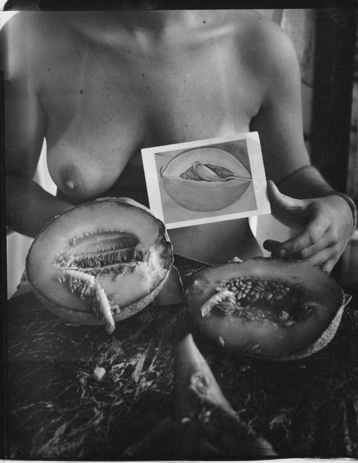 Francesca Woodman #art #selfportrait #photography
