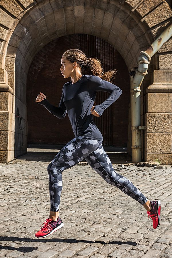 New Saucony Fall workout apparel ||  Made to be light, breathable and manage sweat to help you run at your best. Shop athletic wear for women at Saucony.com.