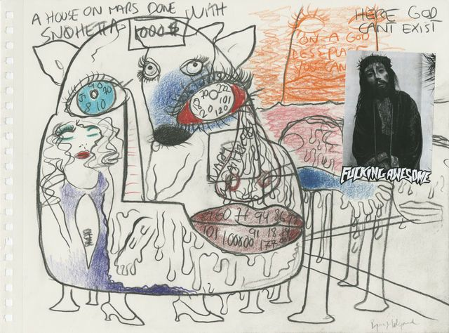Bjarne Melgaard, Untitled