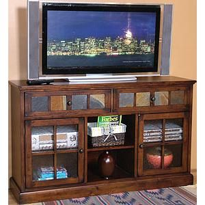 Santa Fe Traditional 2 Drawer 2 Door TV Console By Sunny Designs At Sparks  HomeStore U0026 Home Furnishings Direct