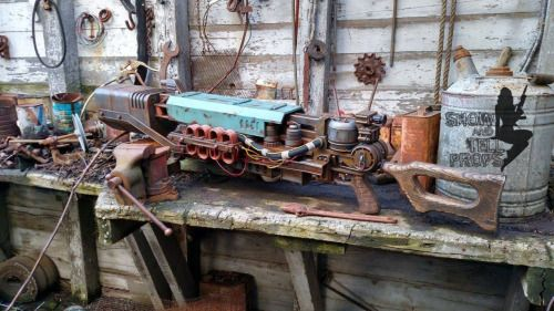 Cool replica by Show and Tell Props  fallout guns fallout weapons fallout replicas fallout 4
