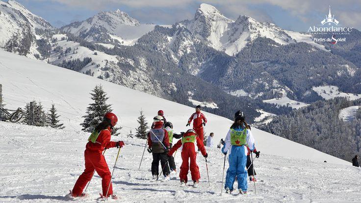 Domaine skiable de l'Essert - Domaine skiable familiale - ski en famille dans les Alpes