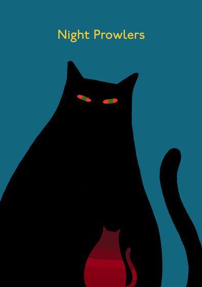 Mi gato de buena suerte ....siempre negro !!!!