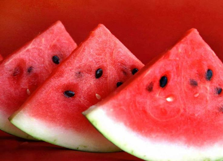 Waatlemoen (watermelon) – yet another South African favourite, especially in summer.
