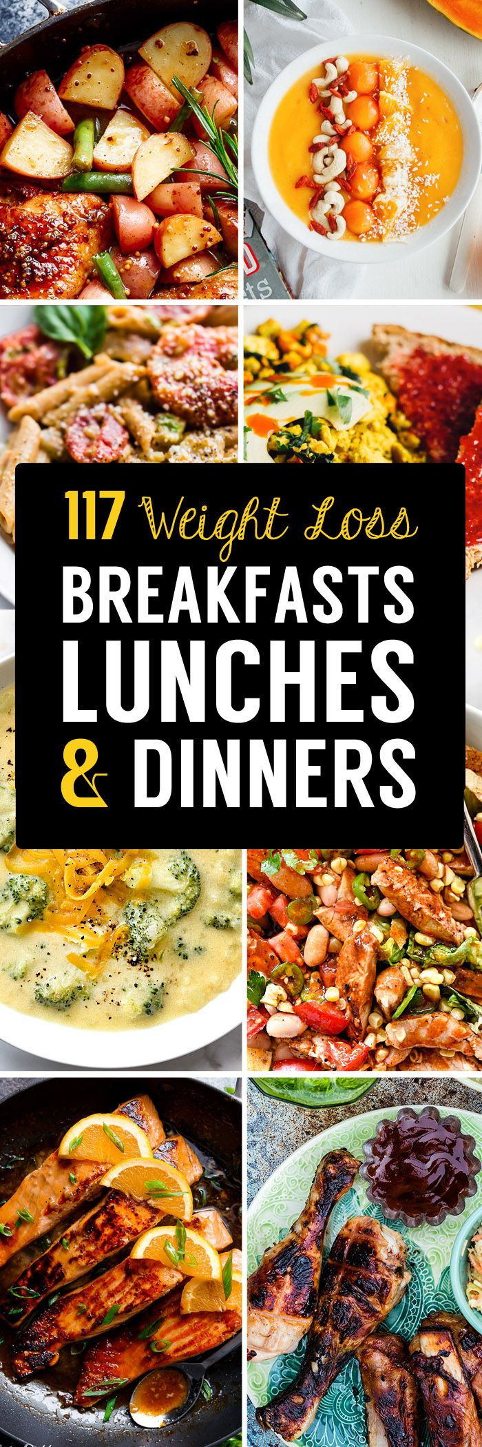 If you're looking for healthy, weight loss meals then we've got your covered…