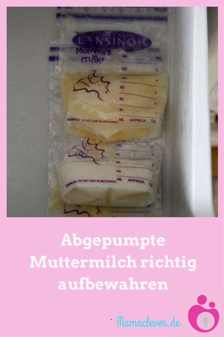 Wie Lange Muttermilch Warmhalten
