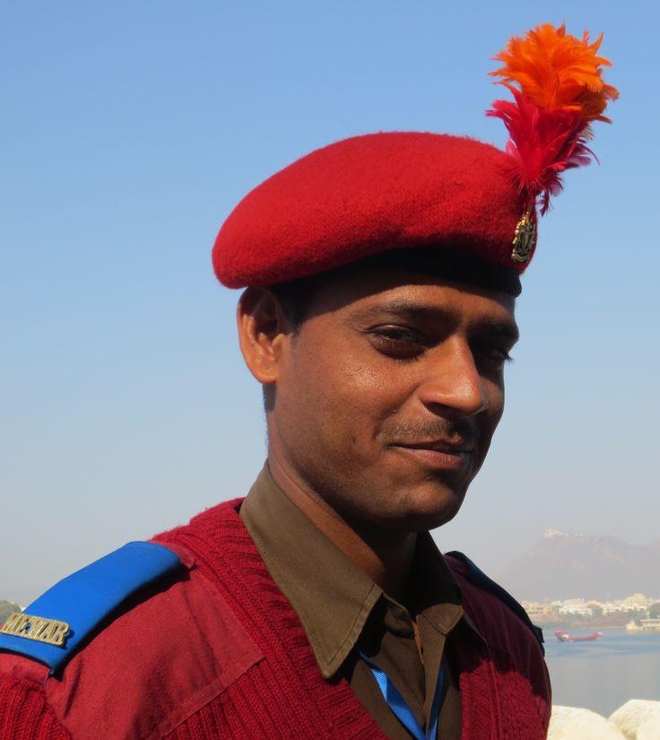 Garde royal à Udaipur