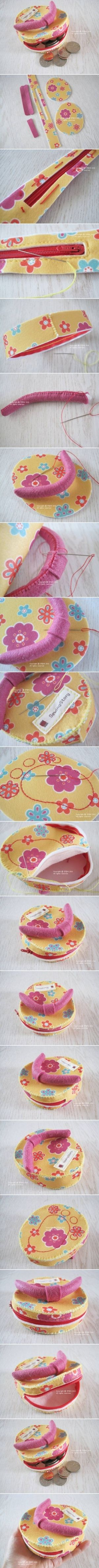 How To Make custom Flip Flop money bag step by step DIY tutorial instructions, How to, how to do, diy instructions, crafts, do it yourself, by Mary Smith fSesz