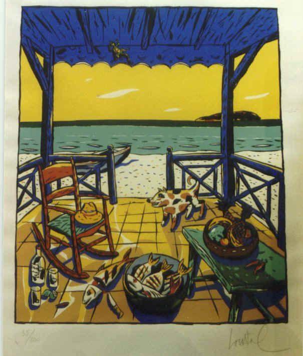 Loustal, Antilles,1992