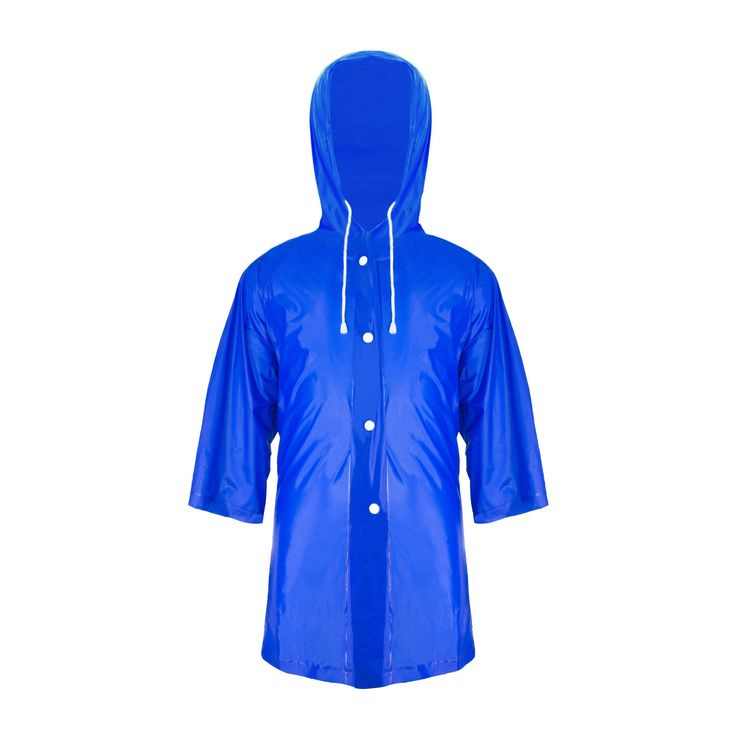 ZDH Kids Children Rain Poncho Raincoat Portable with Hoods and Sleeves-Blue-L. Environmentally-friendly PVC material, safe and non-toxic. Also with natural pollution resistance. Exquisite workmanship design makes it thicker than ordinary materials and retained a good toughness, relatively strong, not easy to be damaged. Waterproof effect can be compared with the umbrella. Every baby who wears our raincoat is an angel with its beautiful appearance. Seamless splicing technology provides…